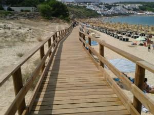 El Areenal D'en Castel - wooden cladding Access to beach