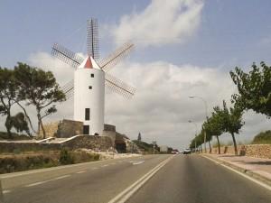 Windmolen van Es Castell